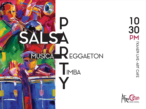reggaeton salsa timba party