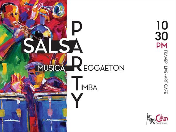 reggaeton salsa timba party