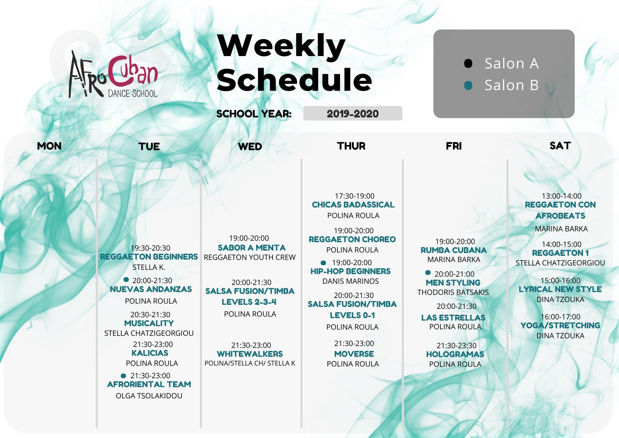 Afrocuban reggaeton thessaloniki programme
